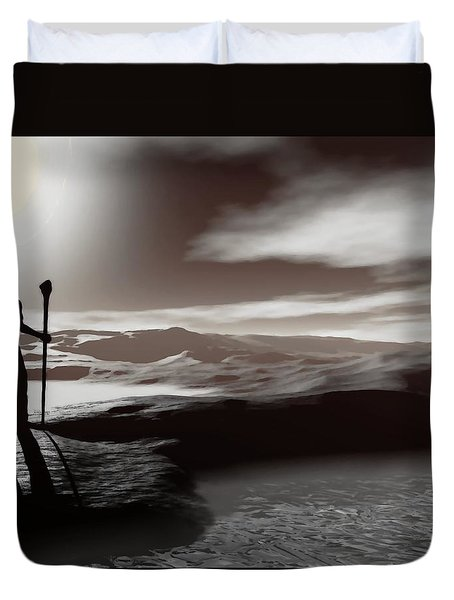 The Journey Duvet Cover
