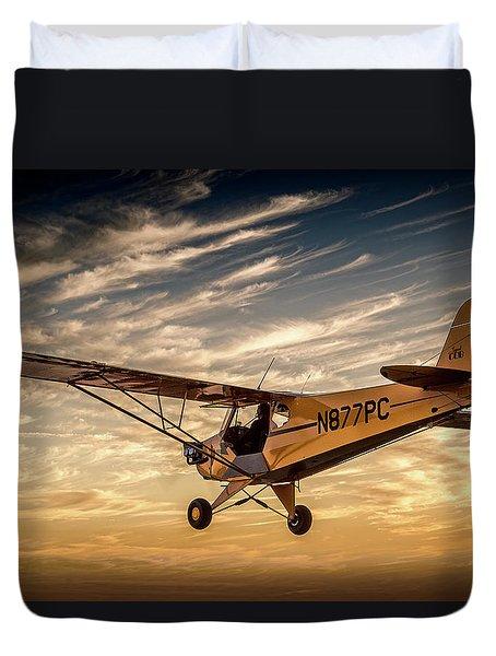 The Joy Of Flight Duvet Cover