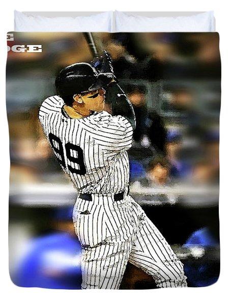 The Judge, Aaron Judge, Number 99, New York Yankees Duvet Cover