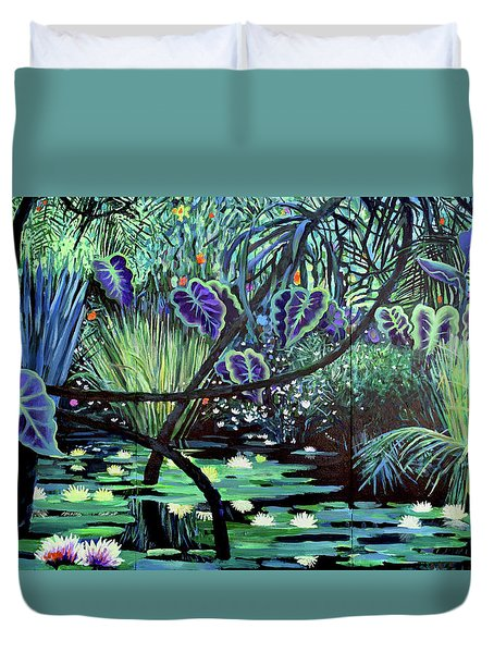 The Jungle Duvet Cover by Geoff Greene