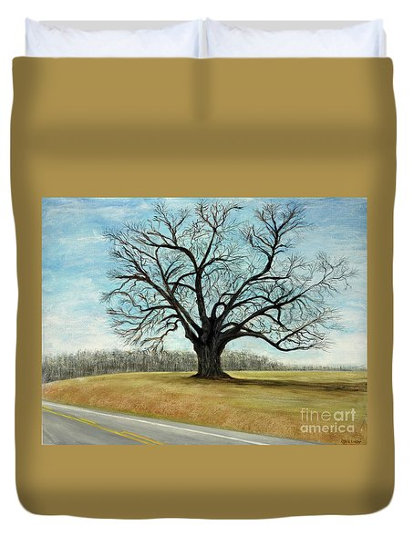The Keeler Oak Duvet Cover