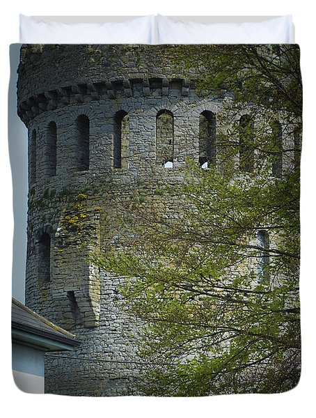 The Keep At Nenagh Castle Ireland Duvet Cover