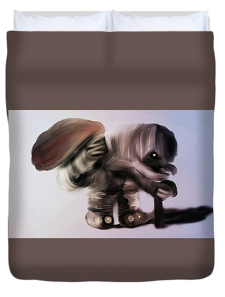 The Keeper Duvet Cover