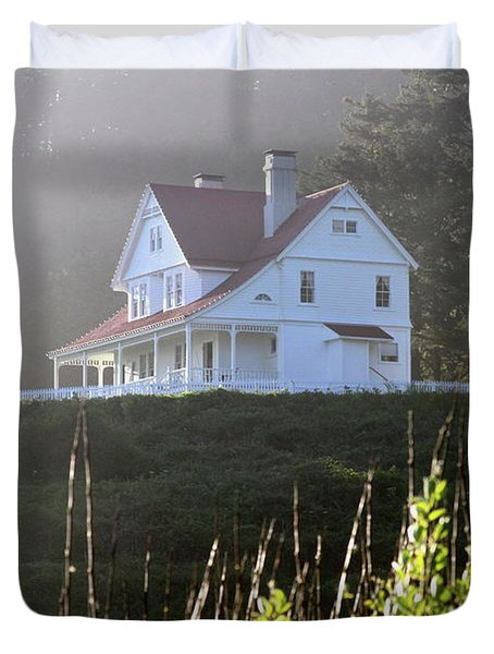 The Keepers House 2 Duvet Cover by Laddie Halupa
