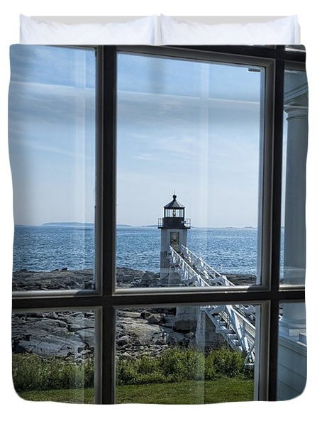 The Keeper's View Duvet Cover by Patrick Fennell