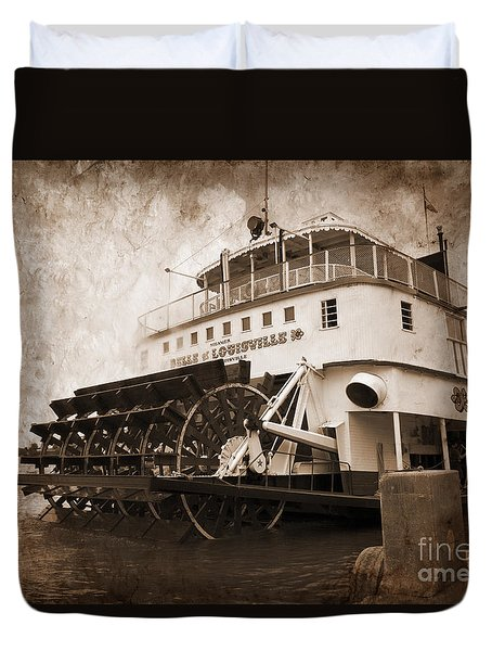 The Kentucky Belle Of Louisville  Duvet Cover