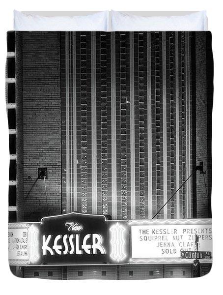 The Kessler V2 091516 Bw Duvet Cover