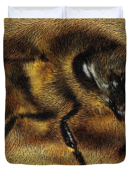 The Killer Bee Duvet Cover by ISAW Gallery
