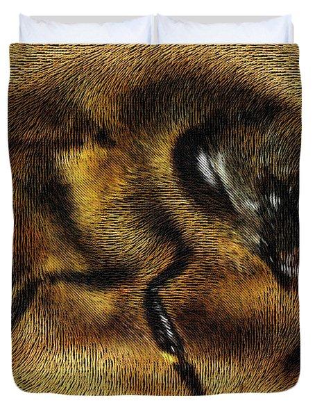 The Killer Bee Duvet Cover