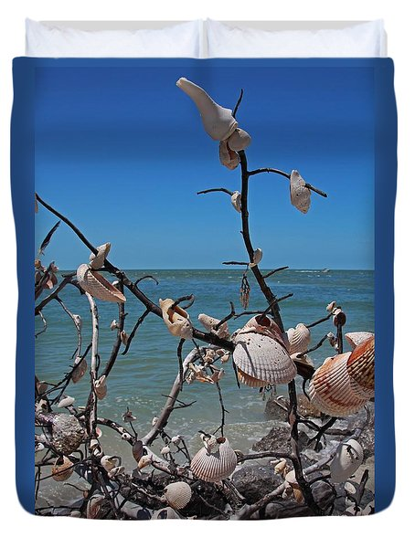 Duvet Cover featuring the photograph The Kindness by Michiale Schneider