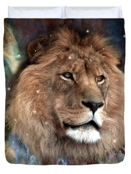 The King Duvet Cover by Bill Stephens