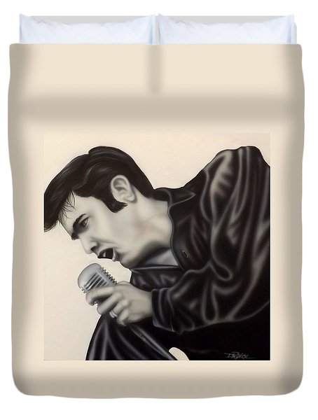 The King  Duvet Cover by Darren Robinson