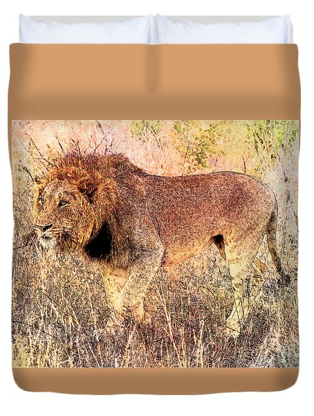 The King Duvet Cover by Ericamaxine Price