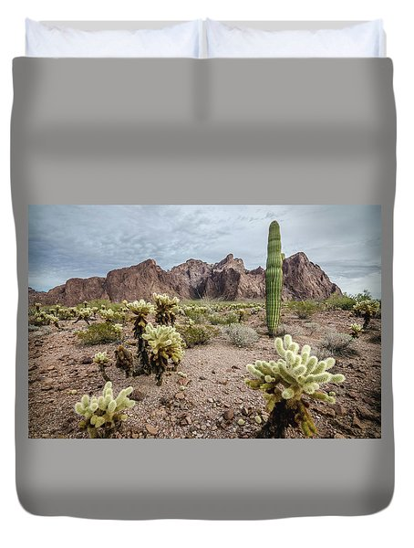 The King Of Arizona National Wildlife Refuge Duvet Cover
