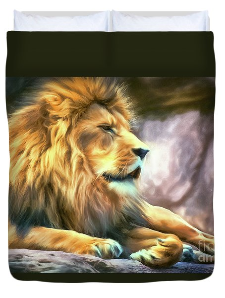 The King Of Cool Duvet Cover