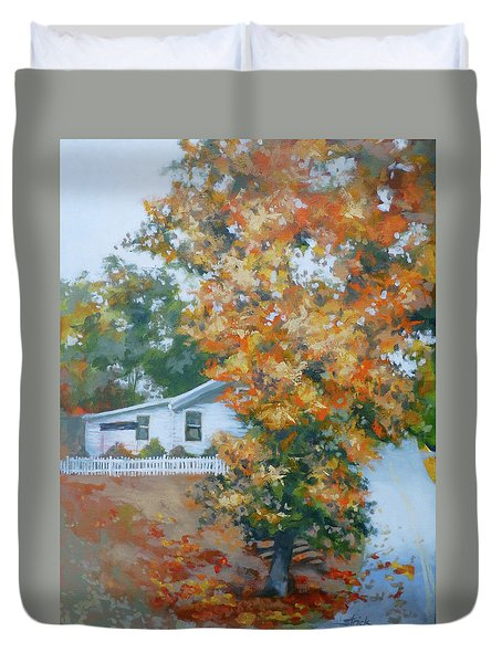 The King Of King Street Duvet Cover by Carol Strickland