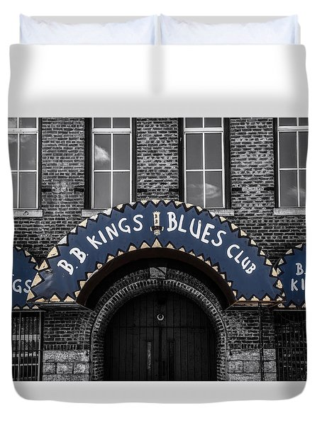 The King's Club Duvet Cover by Ray Congrove