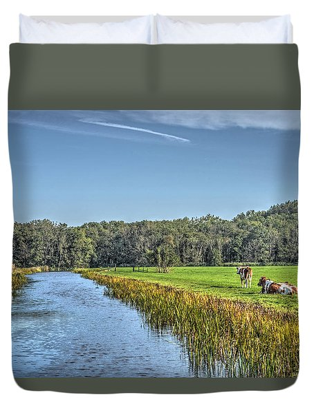 The King's Cows Duvet Cover