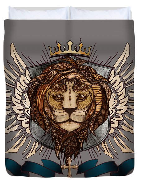 The King's Heraldry II Duvet Cover