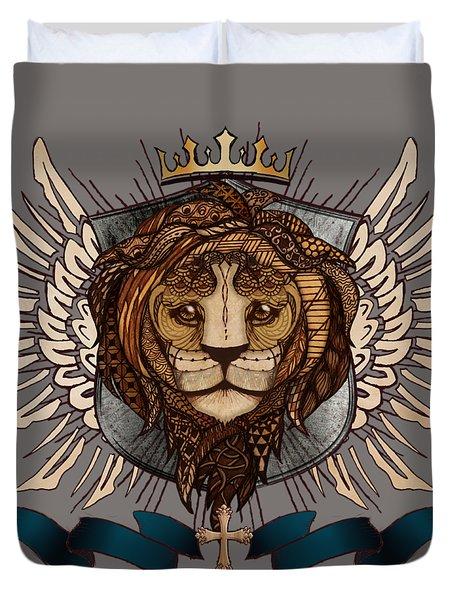 The King's Heraldry II Duvet Cover