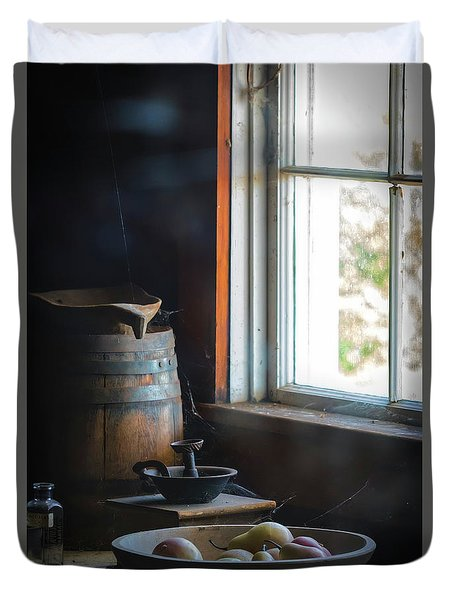 The Kitchen Window Duvet Cover