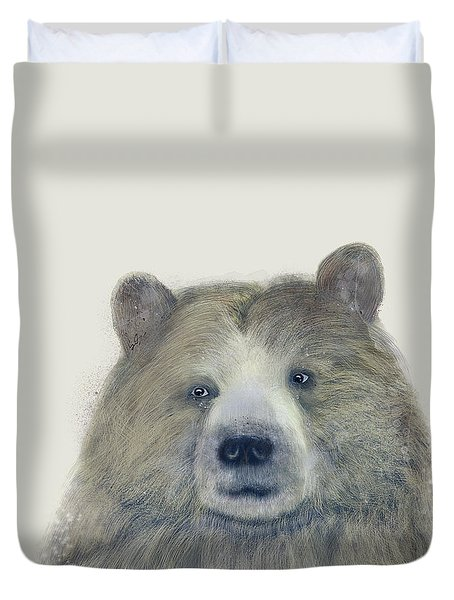 The Kodiak Bear Duvet Cover