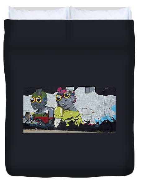 The Kool Kids Duvet Cover