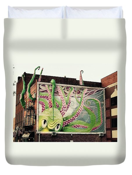 The Kraken  Duvet Cover