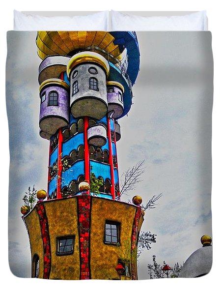 The Kuchlbauer Tower Duvet Cover by Juergen Weiss