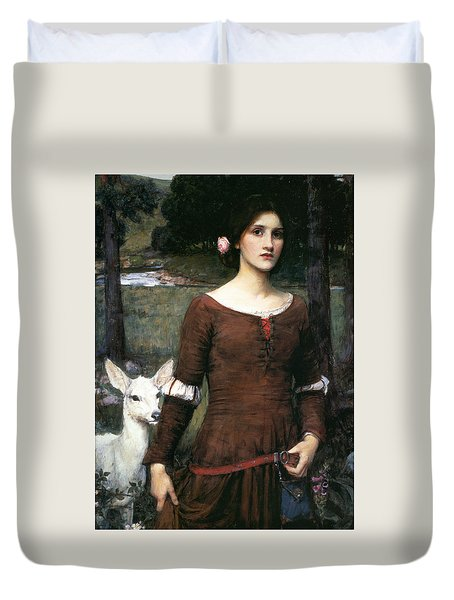 The Lady Clare Duvet Cover