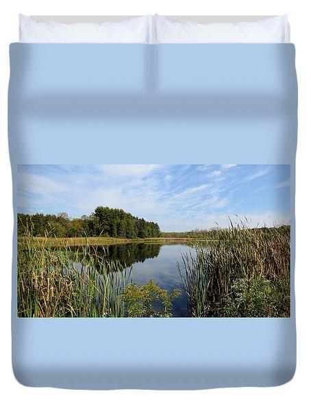 The Lake At Cadiz Springs Duvet Cover