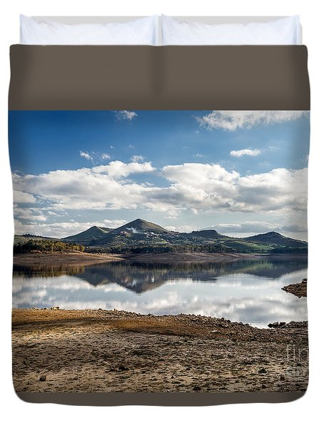 The Lake Duvet Cover by Giuseppe Torre