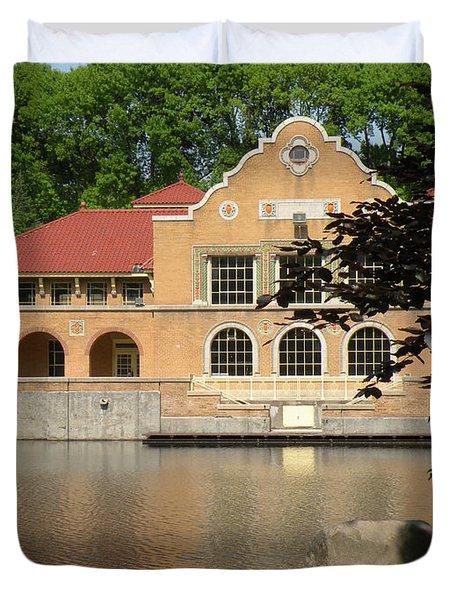 The Lake House Duvet Cover by Rosalie Scanlon