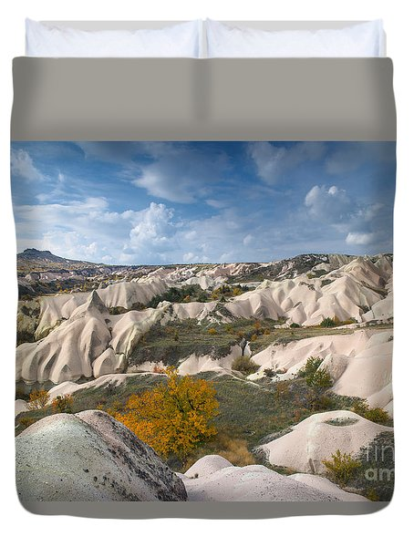 The Landscape Of Cappadocia Duvet Cover by Yuri Santin