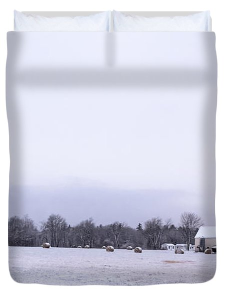 The Last Farm... Duvet Cover by Patrick Fennell