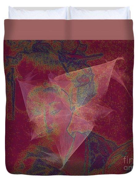 The Last Geisha Duvet Cover
