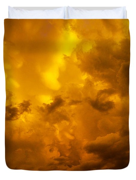 The Last Glow Of The Day 008 Duvet Cover