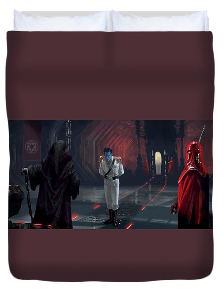 The Last Grand Admiral Duvet Cover