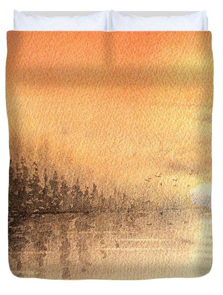 The Last Of Autumn Duvet Cover