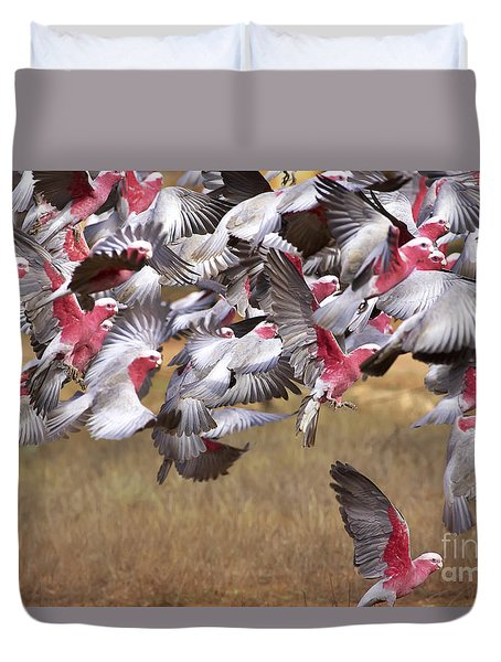 The Last One In The Air Duvet Cover