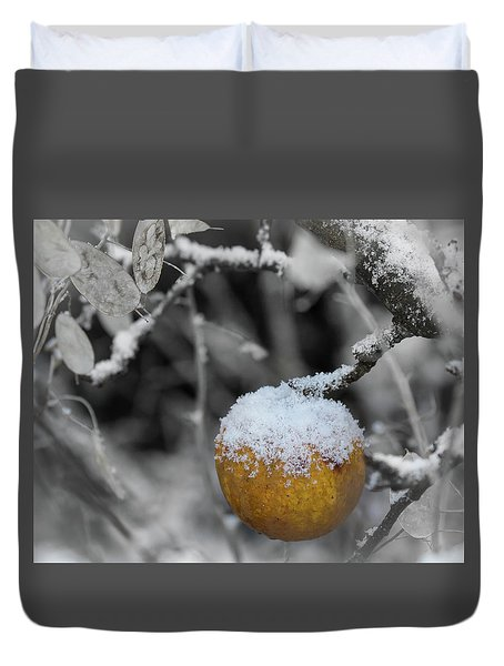 The Last One On The Tree Duvet Cover