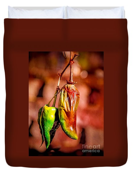 The Last Peppers Duvet Cover