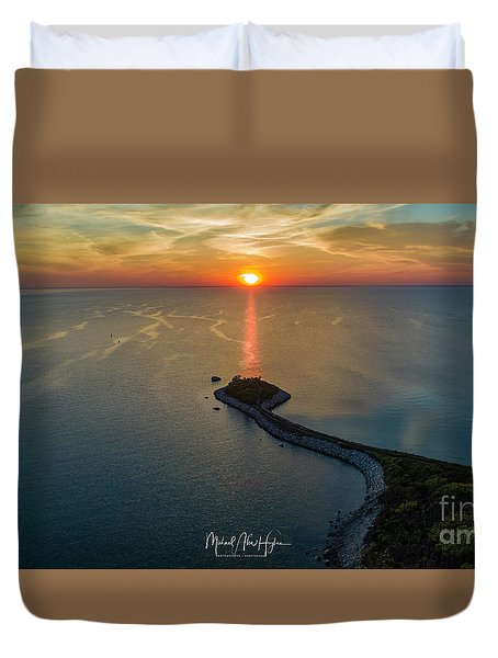 The Last Ray Duvet Cover
