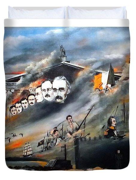 The Last Rebellion  1916 Duvet Cover