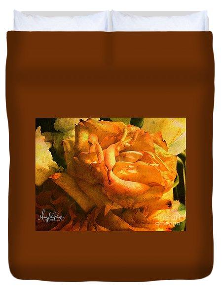The Last Rose Duvet Cover