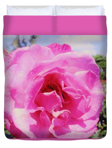The Last Rose Of Summer Duvet Cover