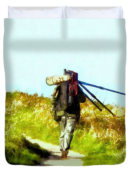 The Last Shot Duvet Cover
