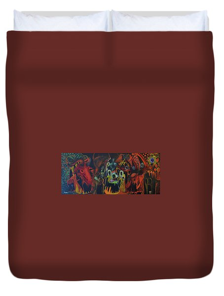The Last Supper Duvet Cover by Christophe Ennis