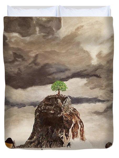 The Last Tree Duvet Cover