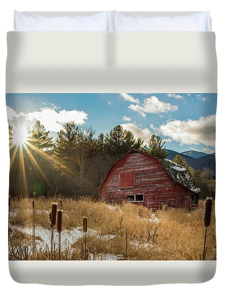 The Last Winter Duvet Cover